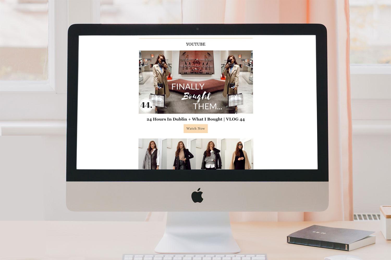 Graphic Website Design Clare