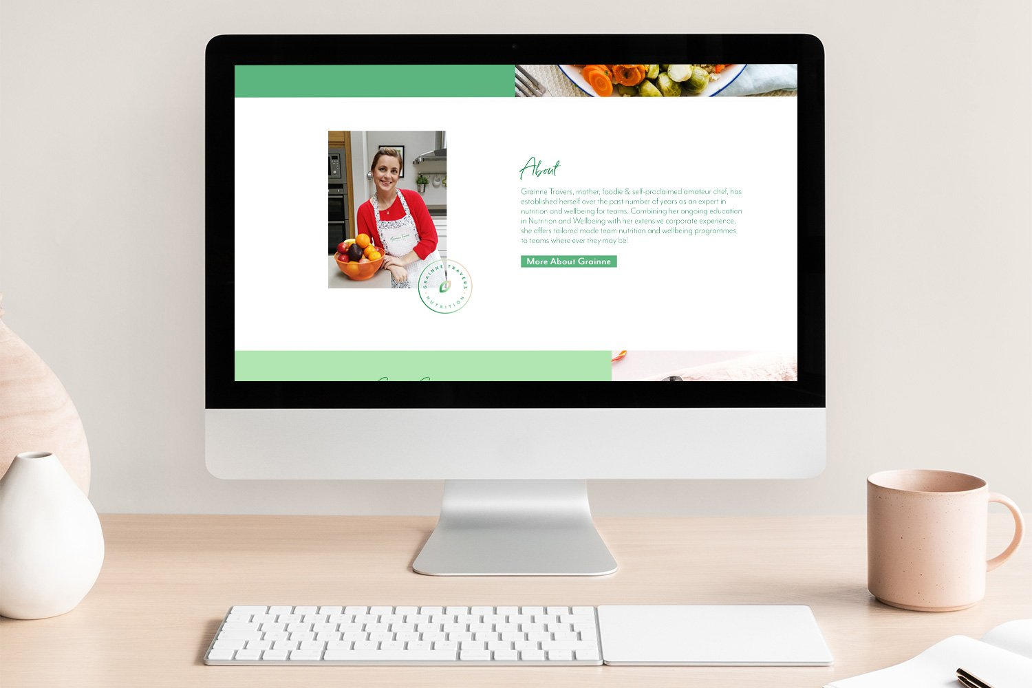 Branding Website Design Clare